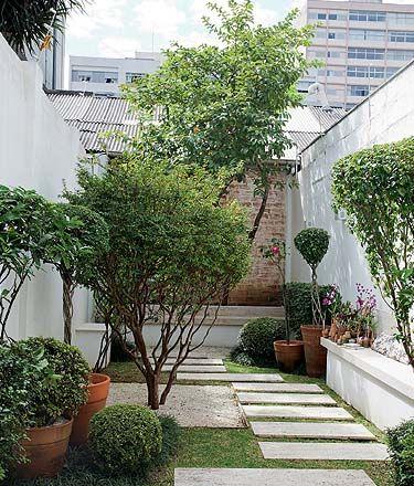 jardines modernos - pinterest