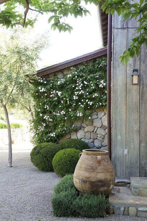 jardines con gravas